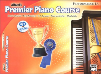 Alfred's Premier Piano Course Performance Book Level 1A With CD