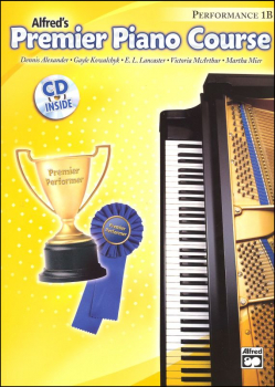 Alfred's Premier Piano Course Performance Book Level 1B With CD