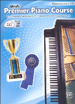 Alfred's Premier Piano Course Performance Book Level 2A With CD