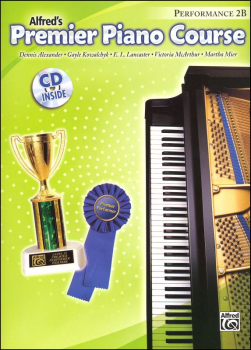 Alfred's Premier Piano Course Performance Book Level 2B With CD