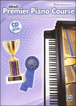 Alfred's Premier Piano Course Performance Book Level 3 With CD