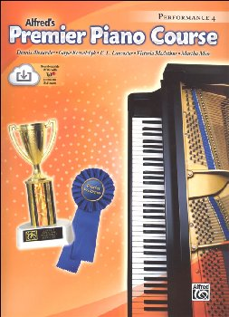 Alfred's Premier Piano Course Performance Book Level 4 With CD
