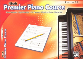 Alfred's Premier Piano Course Theory Book Level 1A