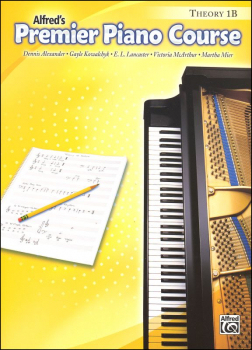 Alfred's Premier Piano Course Theory Book Level 1B