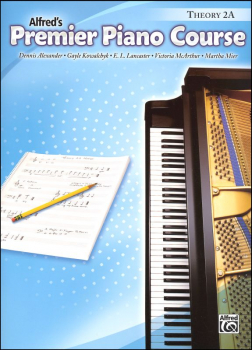 Alfred's Premier Piano Course Theory Book Level 2A