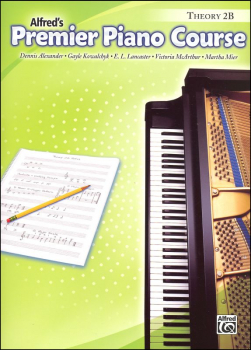 Alfred's Premier Piano Course Theory Book Level 2B