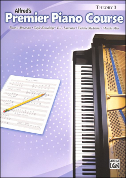 Alfred's Premier Piano Course Theory Book Level 3