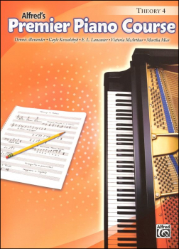 Alfred's Premier Piano Course Theory Book Level 4