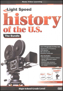Light Speed History of the U.S: History Bundle DVD (5 Pack)