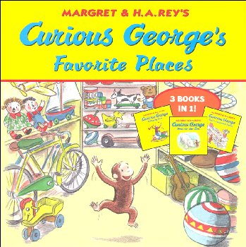 Curious George's Favorite Places (3 Books in 1)