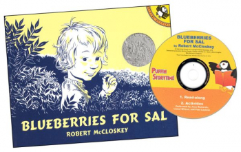 Puffin Storytime: Blueberries for Sal Book & CD