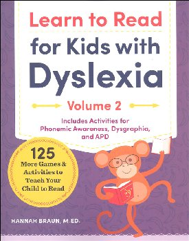 Learn to Read for Kids with Dyslexia, Volume 2
