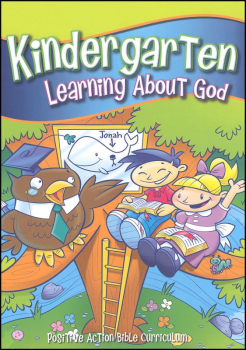 Kindergarten Learning About God Teacher's Manual on CD