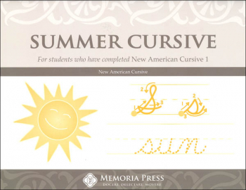 Summer Cursive Workbook