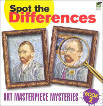 Spot the Differences - Art Masterpiece Mysteries Book 2