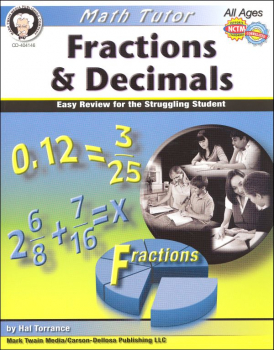 Math Tutor: Fractions & Decimals