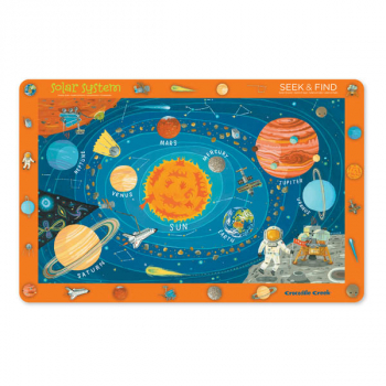 Solar System Seek & Find Placemat (Eat & Learn Placemats)