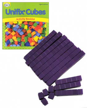 Purple Unifix Cubes (100)