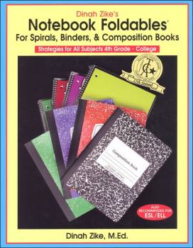 Notebook Foldables for Spirals, Binders, & Composition Books