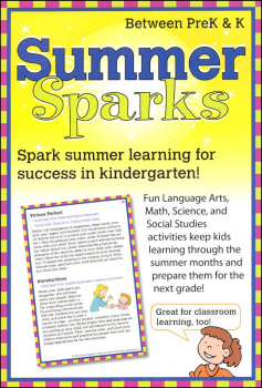 Summer Sparks Activity Cards - Between Grades PreK and K