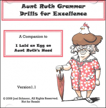 Aunt Ruth Grammar Drills for Excellence CD