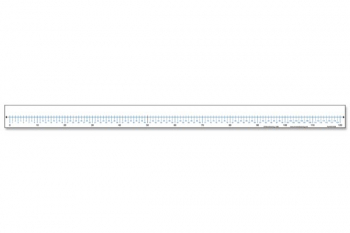 Desk Number Line Write & Wipe with Adhesive back (0 to 120)