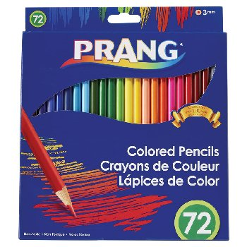 Prang Thick Core Color Pencil Set of 72 (3.3mm)