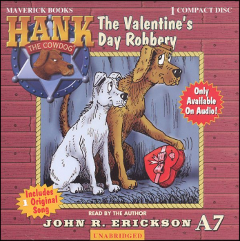 Hank the Cowdog Valentine's Day Robbery CD