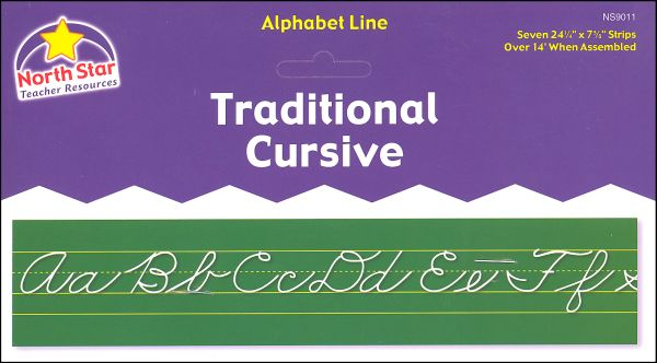 Alphabet Lines - Traditional Cursive