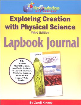 Apologia Exploring Creation with Physical Science 3rd Edition Lapbook Journal Printed