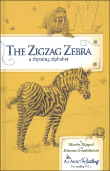 Zigzag Zebra Read-Aloud Rhyming Alphabet Book