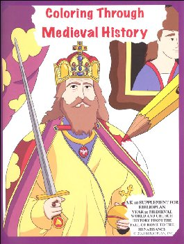 BiblioPlan Coloring Book for Medieval History, 2nd ed.