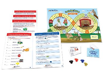 Complete & Incomplete Sentences Learning Center Game - Grades 1-2