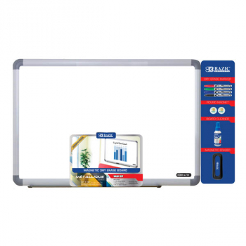 "Aluminum Frame Magnetic Dry Erase Board Value Pack (24"" x 36"")"