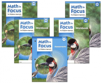 Math in Focus Grade 4 Student Pack