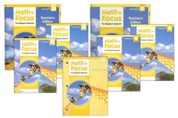 Math in Focus Grade K Student Pack