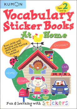 At Home Kumon Vocabulary Sticker Book