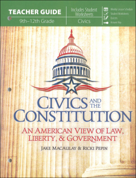 Civics and the Constitution Teacher Guide