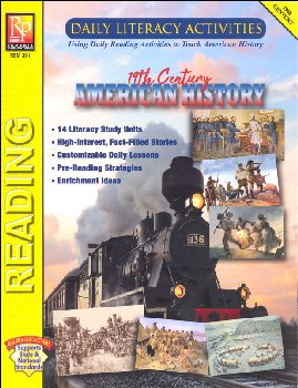 Daily Literacy Activities: 19th Century American History