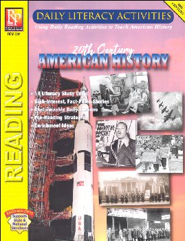 Daily Literacy Activities: 20th Century American History