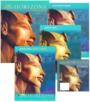 Harcourt Horizons Grade 6 World History Homeschool Package With Parent Guide CD-ROM