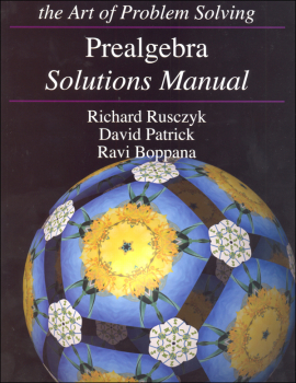 Art of Problem Solving Prealgebra Solutions Manual