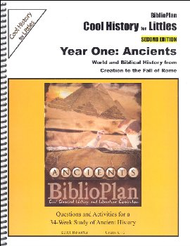 BiblioPlan Ancient Cool History for Littles, 2nd Edition