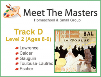 Meet the Masters @ Home Track D Ages 8-9
