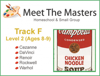 Meet the Masters @ Home Track F Ages 8-9