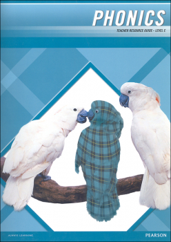 Plaid Phonics Teacher Resource Guide Level E (2011 Edition)