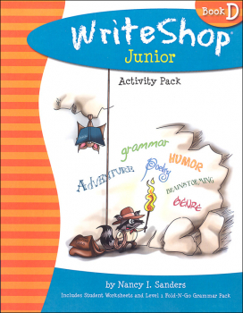 WriteShop Junior Level D Activity Pack