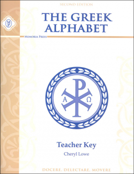 Greek Alphabet Book Key Second Edition