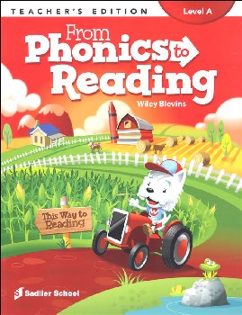 From Phonics to Reading Teacher Edition Grade 1