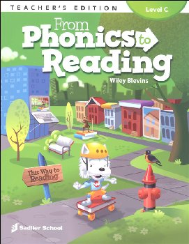 From Phonics to Reading Teacher Edition Grade 3